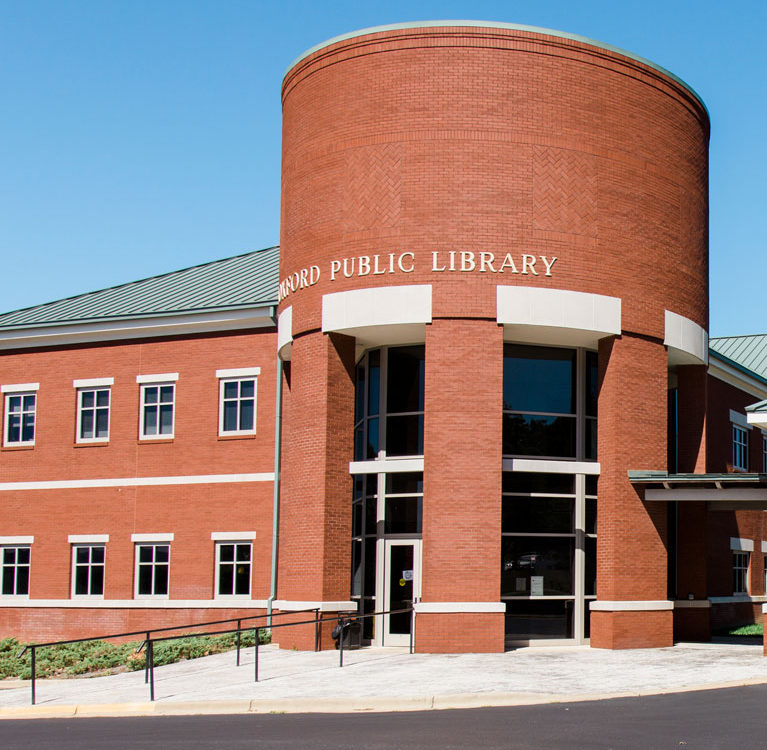 Oxford Public Library building